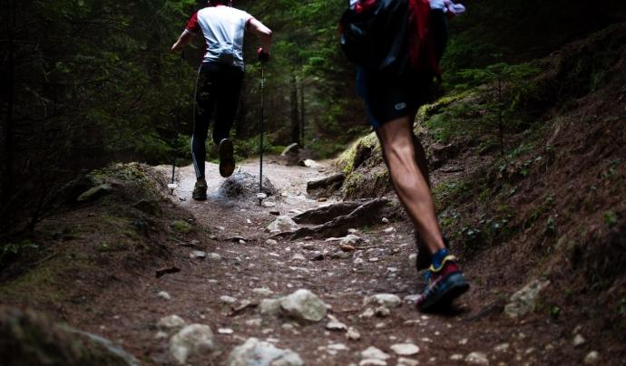 D'altres són curses de muntanya o marxes populars com la de Bescanó o la Serra de les Obages. Font: Unsplash.  Font: Font: Unsplash.