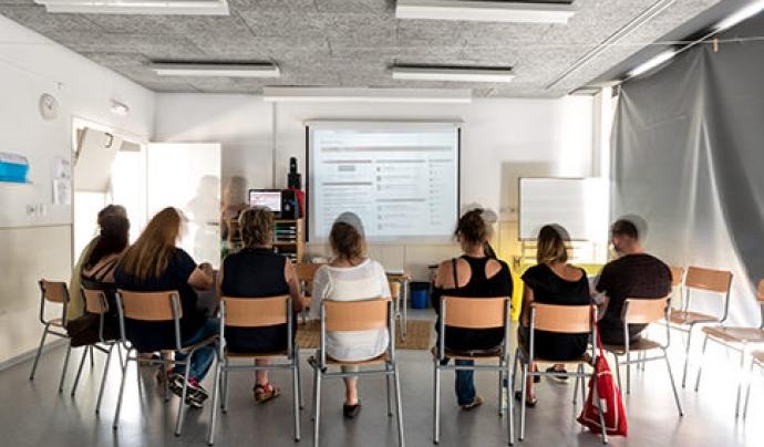 Experiència de vinculació de les extraescolars amb el treball amb les famílies, Sabadell