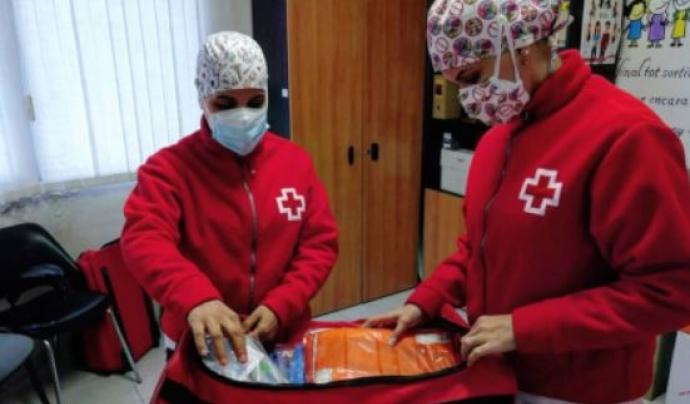 L'entitat d'ajuda humanitària ha atès a Catalunya des de l'inici de la pandèmia unes 700.000 persones.  Font: Creu Roja Catalunya