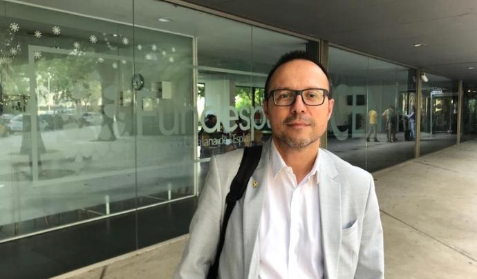 Salvador Samitier és el cap de l'Oficina Catalana del Canvi Climàtic. Font: Fundesplai. Font: Fundesplai