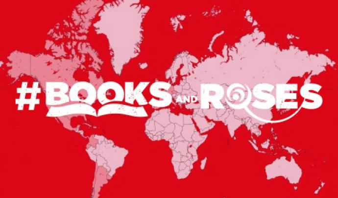 DiploCat ha reactivat la campanya #booksandroses per Sant Jordi. Font: DiploCat