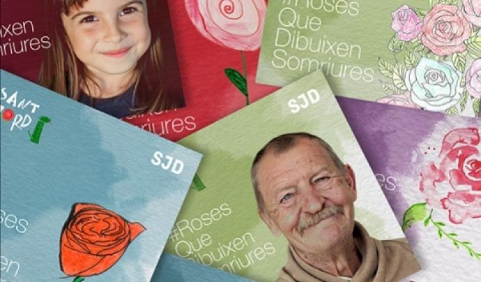 Campanya #RosesQueDibuixenSomriures de l'Obra Social Sant Joan de Déu Font: Obra Social Sant Joan de Déu