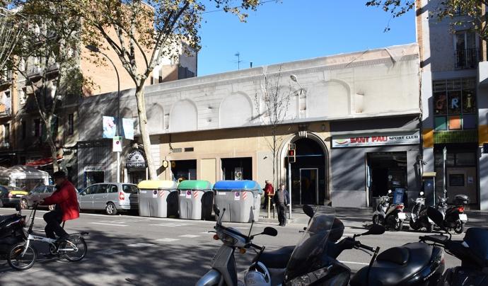 El Gimnàs Social Sant Pau ofereix dutxes, menjar i roba a tot el que ho necessita.  Font: Gimnàs Social Sant Pau