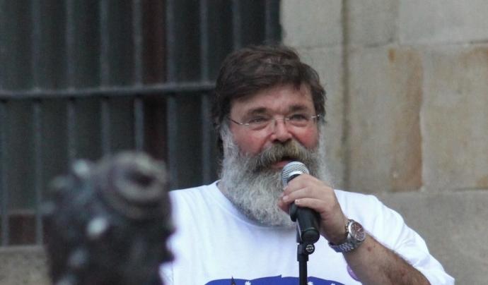 Xavier Cordomí, durant les festes de Sant Roc de la Plaça Nova al 2019. Font: Associació de Festes de la Plaça Nova