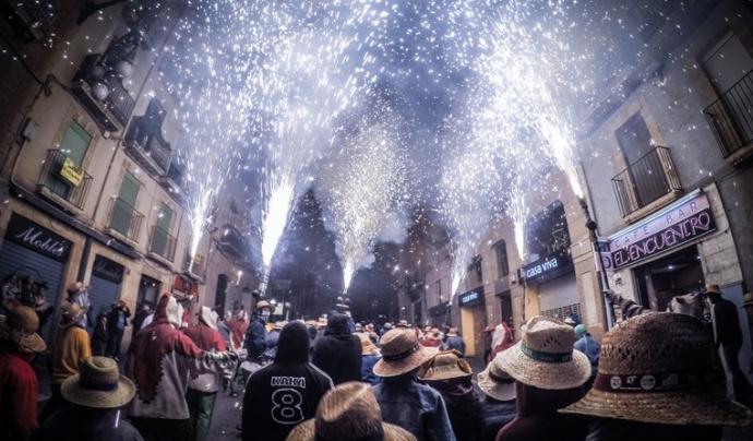 Les festes de Santa Tecla se celebren a Tarragona des de 1321.  Font: Santa Tecla