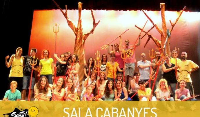 L'entitat Sala Cabanyes de Mataró es solidaritza amb el Projecte Santi