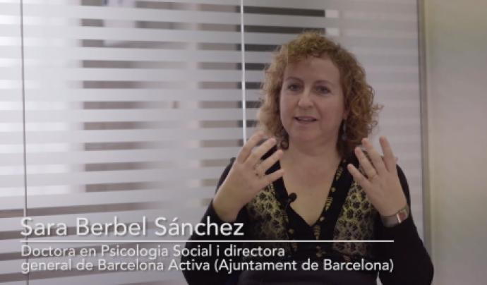 """Sara Berbel, una de les expertes entrevistades al capítol sobre l'escletxa salarial a """"Igualtat a fons"""""""