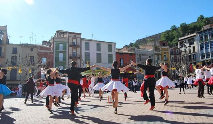 Final del Campionat de Catalunya Gran A de sardana de competició, aquest novembre (Foto: Grup Sardanista Maig) Font: Grup Sardanista Maig