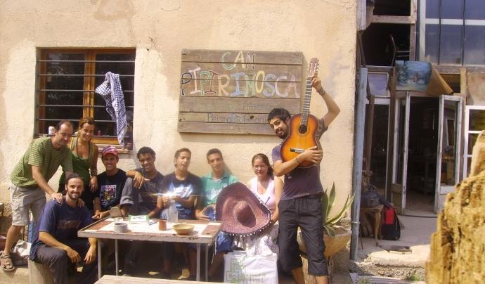 Membres d'un dels projectes gestionats pel SCI. Font: SCI Catalunya