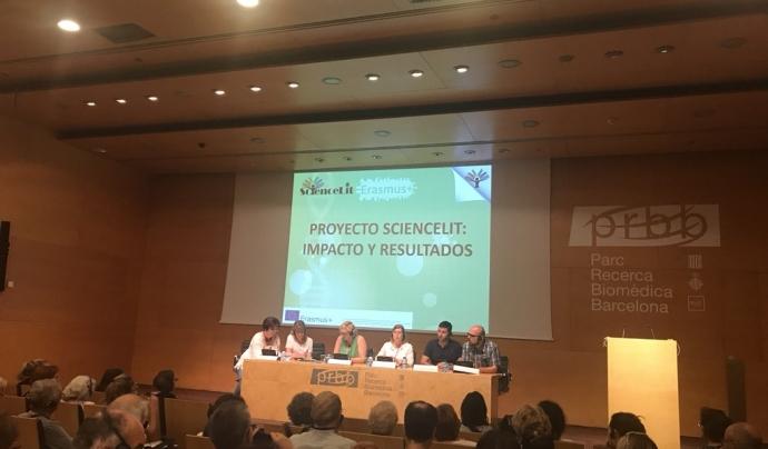 La conferència final del projecte va servir per presentar els seus resultats Font: ScienceLit