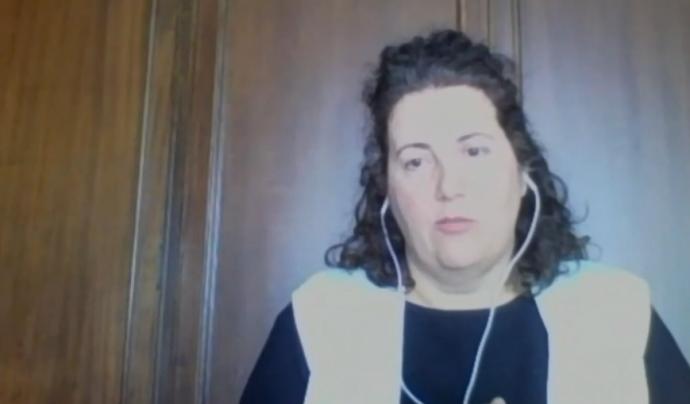 Cristina Carreño, Metges Sense Fronteres Font: Metges Sense Fronteres