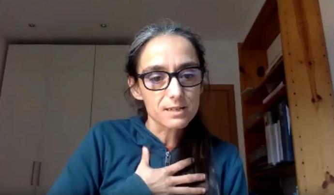 Anna Pujol, facilitadora a Resilience Earth Font: ODG