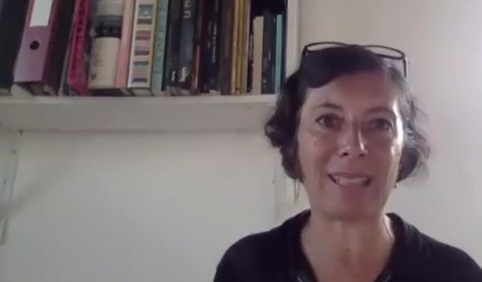 Simona Levi, activista en tecnopolítica i impulsora d'Xnet. Font: ODG