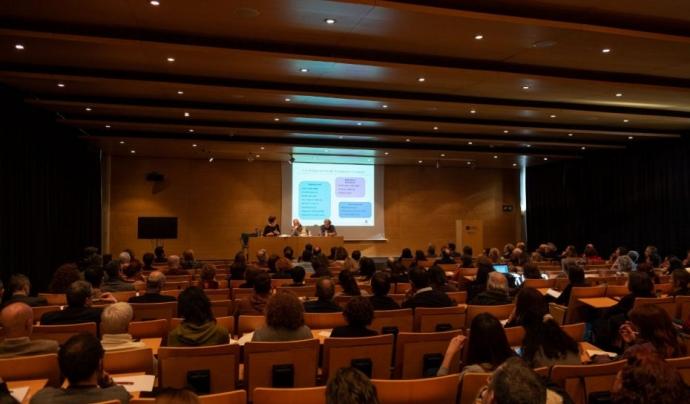 L'AESCAT va donar a conèixer el passat 13 de febrer el procés de construcció de bases de la futura llei d'Economia Social Font: Economia Social Catalunya