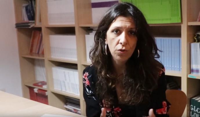 Sira Vilardell, directora general de la Fundació Surt Font: Captura del vídeo de Fundació Surt