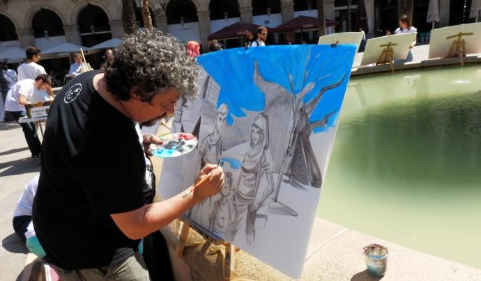 El 20 de juny, organitzaran l'activitat 'Històries del Mediterrani il·lustrades', on 10 il·lustradors/es dibuixaran en viu. Font: Dibuixos per Somriures. Font: Font: Dibuixos per Somriures.