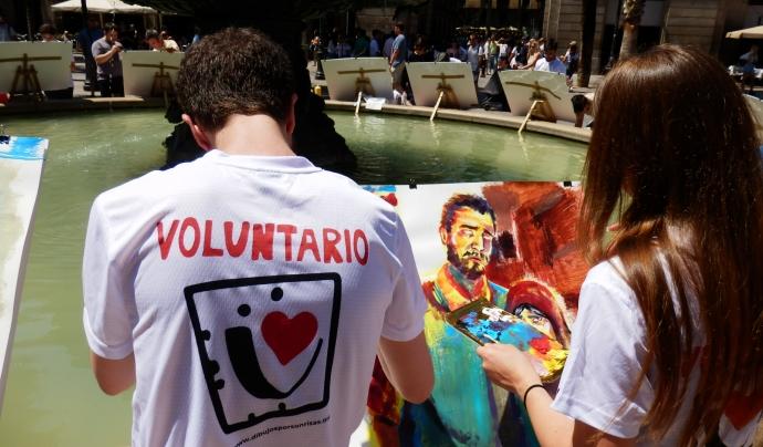 L'activitat tindrà lloc a la Plaça Reial de Barcelona. Font: Dibuixos per Somriures. Font: Font: Dibuixos per Somriures.