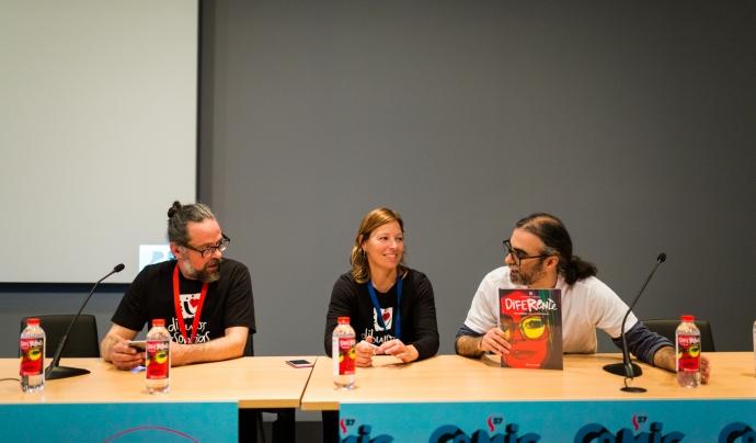 El projecte es va presentar a la passada edició del saló del còmic. Font: Dibuixos per Somriures. Font: Font: Dibuixos per Somriures.