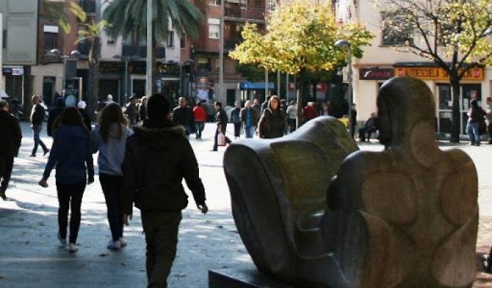 Imatge del barri de la Serra d'en Mena, a Santa Coloma de Gramenet. Font: serramena.com