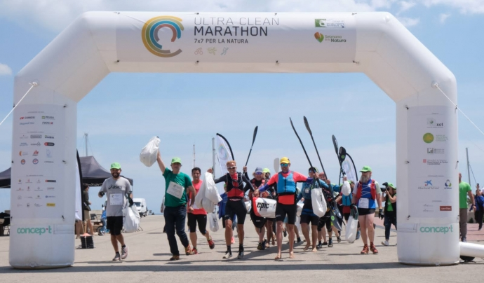 L'Ultra Clean Marathon (UCM) és l'esdeveniment de clausura de la Setmana de la Natura d'enguany. Font: Ultra Clean Marathon