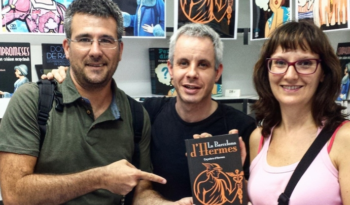 El llibre 'La Barcelona d'Hermes' proposa recorreguts culturals per la ciutat amb Hermes com a element comú Font: Caçadors d'Hermes