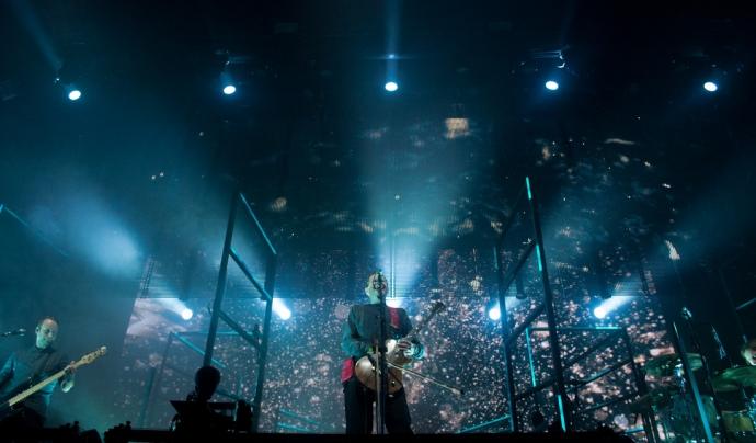 Sigur-Ros en un concert al Festival. Font: Glastonbury Festival/Florence Beasley