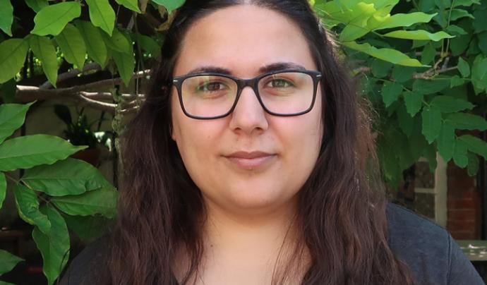 Silvia Carrillo Gómez treballa fent anàlisi de dades i metodologies que permeten conèixer millor les desigualtats socials Font: Observatori iQ