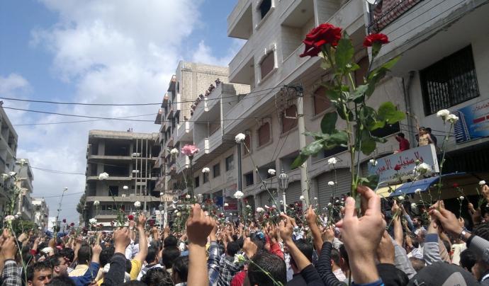 Conflicte de Síria el 2011. Font: Catalunyapress.