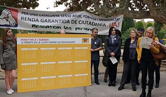 Presentació del manifest 2016 / Font: PobresaZero-Justícia Global