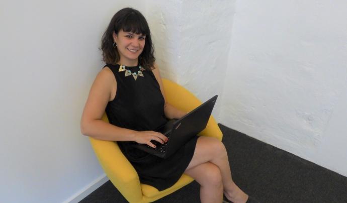 Sonia Alonso va viure a Berlín durant 12 anys i d'allà va portar la idea de crear una plataforma virtual per posar en contacte veïns i veïnes. Font: ¿Tienes sal?