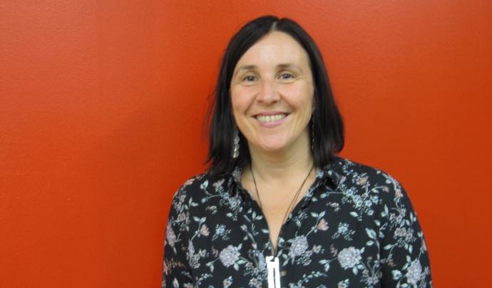 Sònia Fuertes valora durant l'entrevista la relació entre les entitats de segon i tercer nivell.