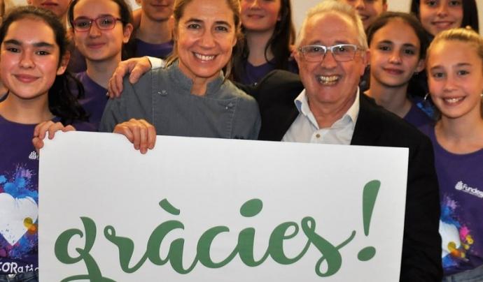 És la tercera edició del sopar solidari que organitza la Fundació Catalana de l'Esplai cada any.  Font: Fundesplai
