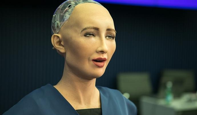 El robot Sophia