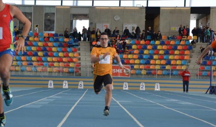 Competició atletisme Font: Special Olympics