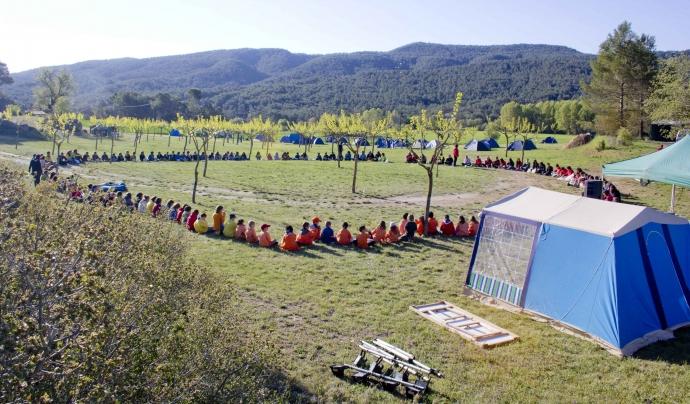 Campament d'estiu / Foto: Minyons Escoltes i Guies de Catalunya