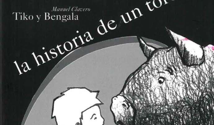 El conte il·lustrat per l'Il·lustrador argentí Manuel Clavero explica una història màgica entre un nen i un toro Font: Manuel Clavero