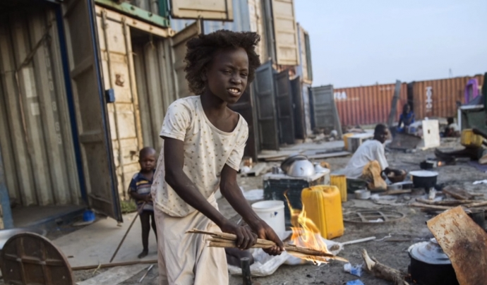 Refugiada a Sudan del Sud. Font: MSF