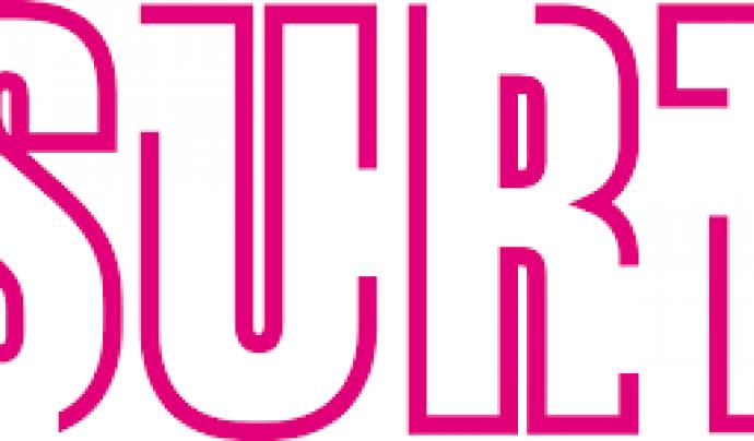 Logo de la Fundació Surt.