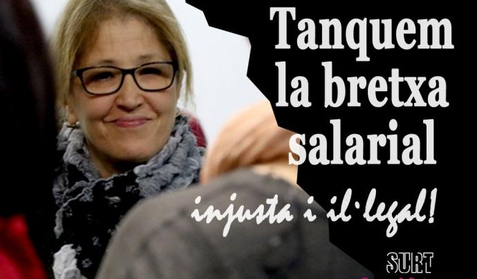 La Fundació Surt engega la campanya #TanquemLaBretxa Font: Fundació Surt (Twitter)