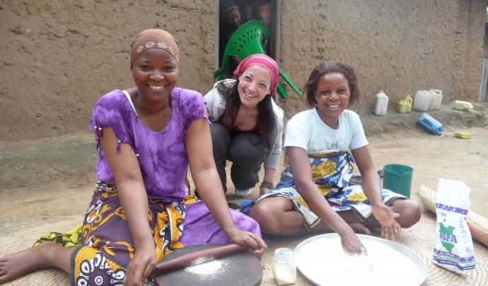 La Susanna Gómez és la presidenta i cofundadora de Children Of Africa. Font: Imatge cedida per Susanna Gómez.