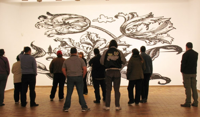 Visita a una exposició Font: SUSOESPAI