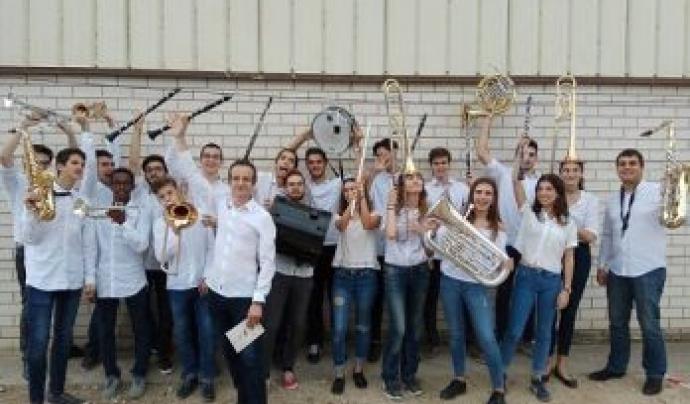Banda de l'Associació Musical Symphocat de Barcelona