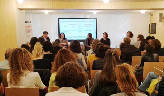 La xarxa està integrada actualment per 6 ONG i entitats socials i 22 empreses. Font: Fundación Hazloposible