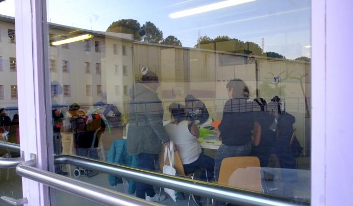 El taller de creació cinematogràfica de Las Mirillas es fa a Brians 1 des del juliol del 2018 Font: Las Mirillas