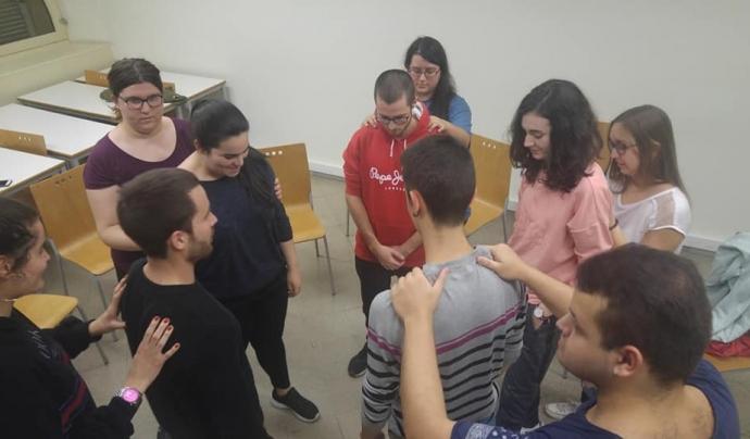L'entitat treballa sobretot amb gent jove Font: Sense Embuts