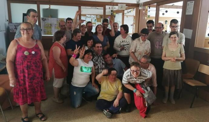 Taller Sant Jordi atén més d'una cinquantena de persones Font: Taller Sant Jordi