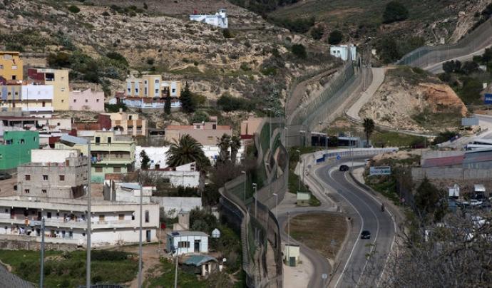 La tanca de Melilla. / FRANCESC MELCION Font: Francesc Melcion