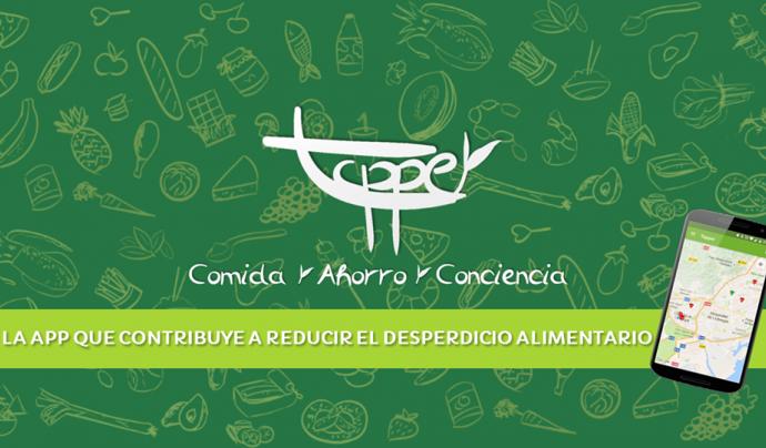 L'app posa en contacte petits comerços i persones usuàries interessades en reduir el malbaratament alimentari (imatge: tapperapp)