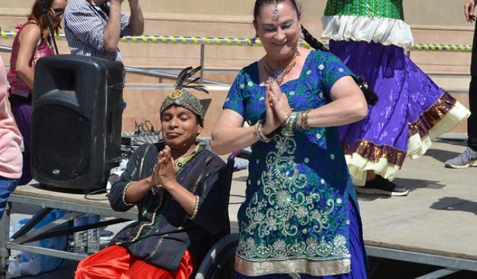 Durant la jornada hi haurà una actuació de Bollywood a càrrec de la Fundació Onada. Font: FCVS