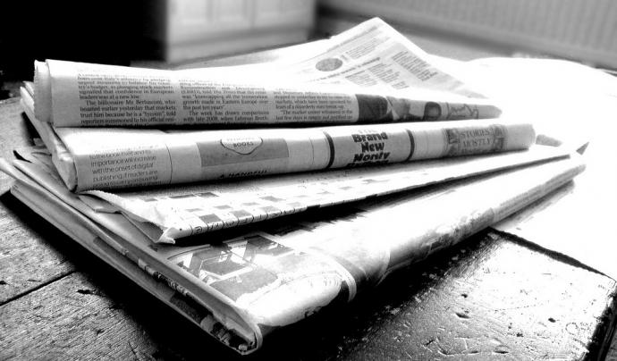 Munt de diaris